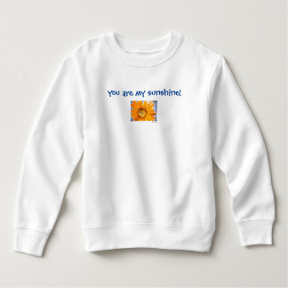 You are My Sunshine Sunflower Art Child Sweatshirt