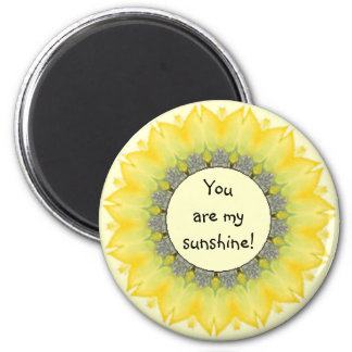 You are My Sunshine, Sunflower Encouragement Magnet