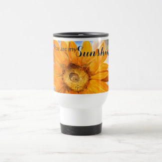 You are My Sunshine Watercolor Travel Mug