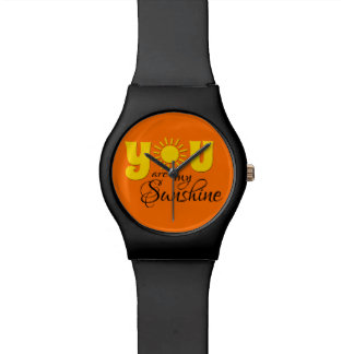 You are my sunshine wrist watches