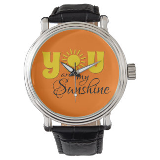 You are my sunshine wristwatches
