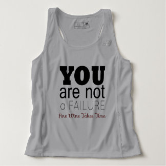 YOU ARE NOT A FAILURE, Fine Wine Tank Top