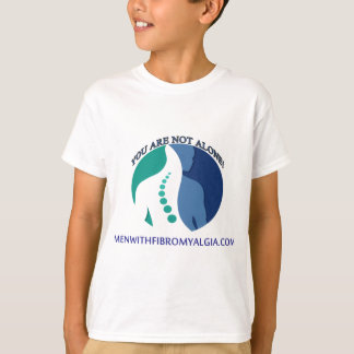 You Are NOT Alone - Men With Fibromyalgia T-Shirt
