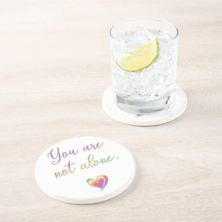 You Are Not Alone/Safety Pin Coaster