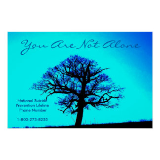 You are not Alone/Support poster