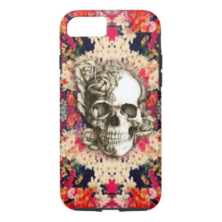 You are not here Day of the Dead floral art Case-Mate iPhone Case