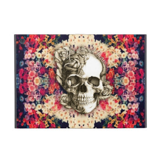 You are not here floral skull ipad mini case. iPad mini cover