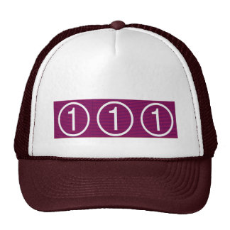 You are NUMBER ONE - Achievers in Excellence Hats