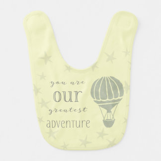 You Are Our Greatest Adventure Bib