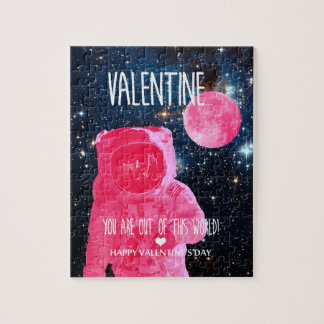 You are out of this world Valentine Jigsaw Puzzle