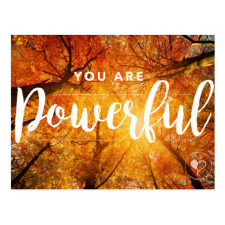 You are Powerful Inspirational Postcards