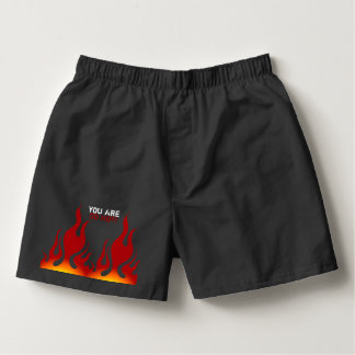 You are so hot! Baby Rib Boxer Brief Boxers