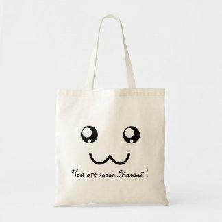You are so Kawaii Adorable Cute Face Tote Bag
