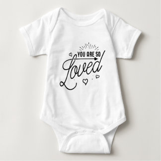 You are So Loved Kid Baby Shirt