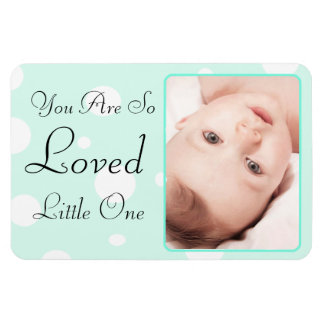 You are so Loverd  Teal  Personalized Magnet
