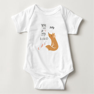 You Are So Very Loved Baby Bodysuit