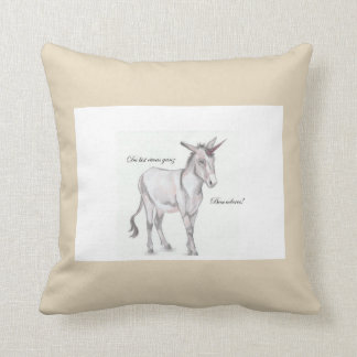 You are somewhat completely special! throw pillow