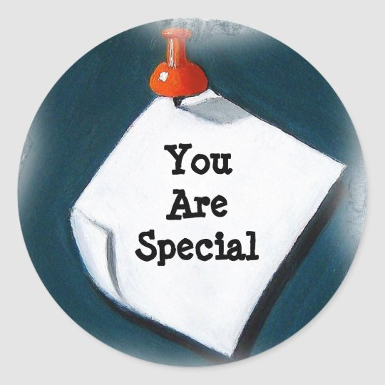 YOU ARE SPECIAL: STICKERS