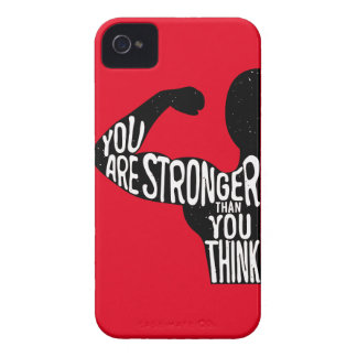 You Are Stronger Than You Think iPhone 4 Cases