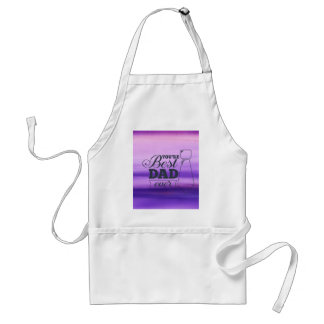 You are the best dad ever Father's day Standard Apron