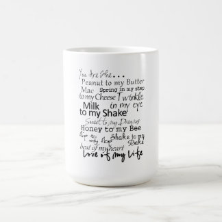 You are the... coffee mug