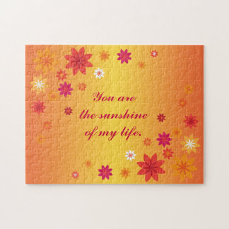 You are the Sunshine Jigsaw Puzzle