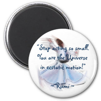 You Are The Universe! The Poetic Wisdom of RUMI Magnet