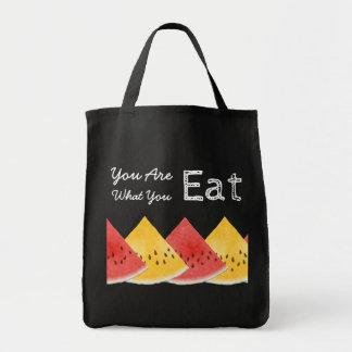 You Are What You Eat Watermelon Tote Bag