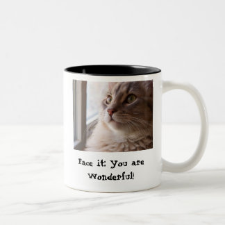 You are Wonderful Two-Tone Coffee Mug