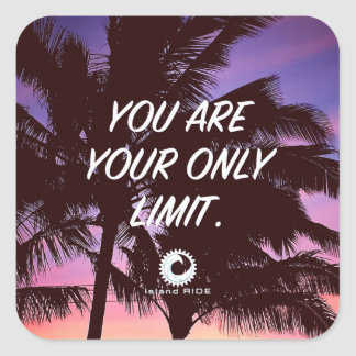 You Are Your Only Limit sticker