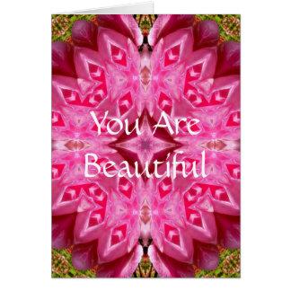 You AreBeautiful Card
