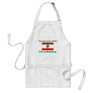 You bet your kibbi I'm Lebanese Standard Apron