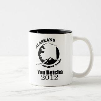 You betcha 2012 coffee mug