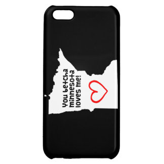 You Betcha Minnesota Loves Me iPhone 5C Cases