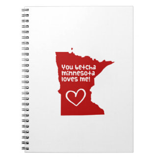 You Betcha Minnesota Loves Me Journal