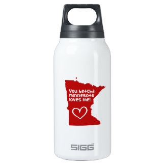 You Betcha Minnesota Loves Me SIGG Thermo 0.3L Insulated Bottle