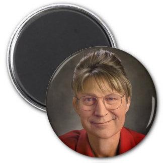 You Betcha! Sarah Palin & Dick Cheney VP, Politics 2 Inch Round Magnet