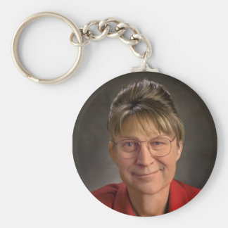 You Betcha! Sarah Palin & Dick Cheney VP, Politics Basic Round Button Keychain