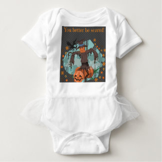 You Better Be Scared Halloween Baby Bodysuit