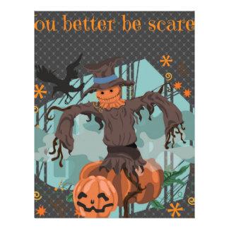 You Better Be Scared Halloween Letterhead