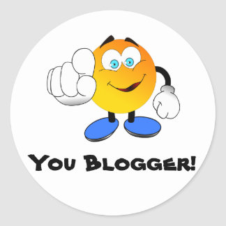 You Blogger! stickers