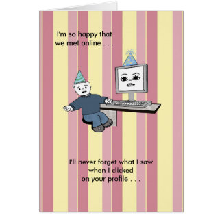 You Brighten Up My Screen - Birthday Card