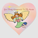 You Bring Happiness To My Heart Stickers