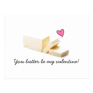 you butter be my valentine card