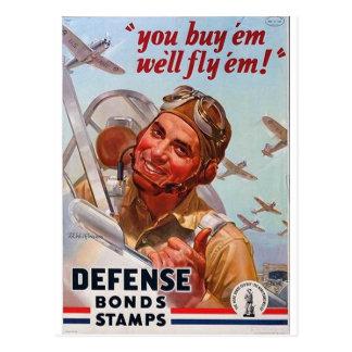 You Buy Em-We'll Fly Em! Postcard