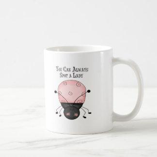You Can Always Spot a Lady Coffee Mug