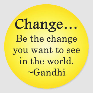 You can change the world stickers