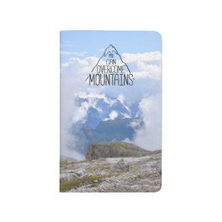 You Can Climb Mountains Notebook Journal