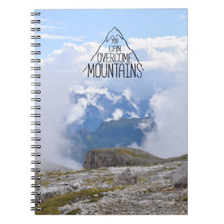 You Can Climb Mountains Spiral Notebook