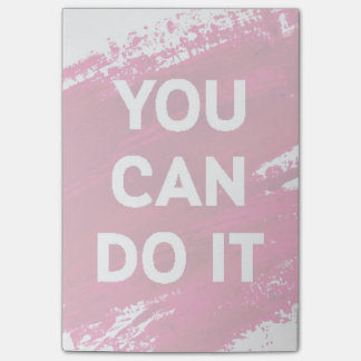 You Can Do It 3 Post-it Notes